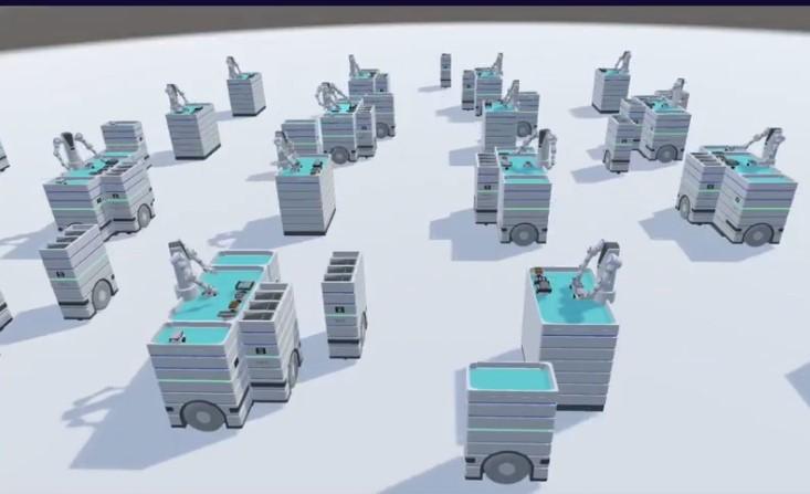 Autonomous factory
